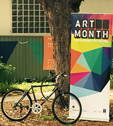 ARTcycle: Art at Night - East Sydney