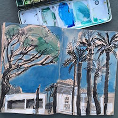 Welcome to the Drawing Room - Sketching on Location